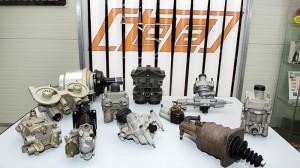 Regeneration of compressed air valves