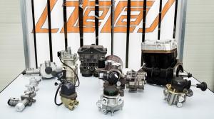 Compressed air valves